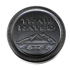 jeep black emblem amazon com jeep wrangler trail badge jeep stickers car