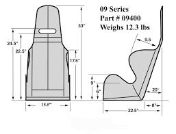 1 car garage dimensions kirkey 09 series 15 5 wide economy 20 deg layback racing seat black