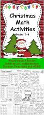 6268 best christmas math ideas images on pinterest christmas