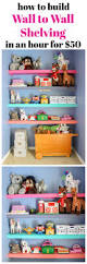 How To Make Wall Shelves How To Build Wall To Wall Shelves