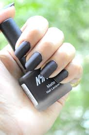 nykaa matte nail paint review and swatches of black cherrypie