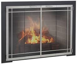 glass fireplace doors fleshroxon decoration