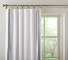 Baby Blackout Curtains Harper Blackout Curtain Pottery Barn Kids
