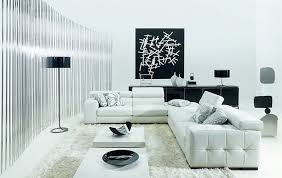 bright floor l for living room minimalist white niculaus living room with white l shaped sofa arch