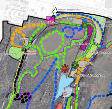 Colorado Springs Trail Map by Red Rock Canyon Open Space Colorado Landscape Architecture