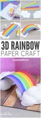 simple 3d rainbow paper craft spin rainbows and 3d