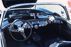 custom c3 corvette dash an oldie reimagined with gary atkins 1957 chevy corvette