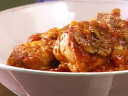 chicken cacciatore recipe burrell food network