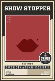 sherwin williams red paint color arresting auburn sw 6034 ready