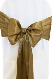 gold chair sashes antique gold satin chair sashes bows ties wholesale