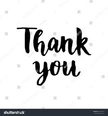 thank you thanksgiving thank you card hand drawn thanks stock vector 443799169 shutterstock