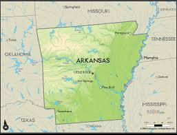 Arkansas Rivers images Arkansas simple big map with map of us labeled with rivers jpg