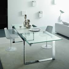 Dining Table Expandable 20 Ways To Expandable Glass Dining Table