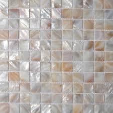 Mother Of Pearl Tiles Bathroom Mother Of Pearl Tile Backsplash Kitchen Design Seashell Mosaic