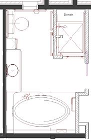Design Bathroom Floor Plan Photo Of Good Master Bathroom Floor - Bathroom design floor plans