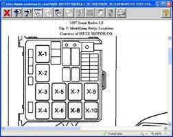 isuzu npr relay diagram 100 images isuzu rodeo wont start the
