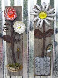 198 best junk garden flowers images on recycling iron