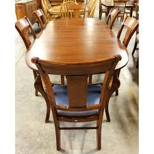 Dining Room Sets 6 Chairs by Nichols U0026 Stone Dining Table With 6 Chairs Upscale Consignment