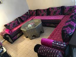 canapé marocain occasion salon marocain occasion inspirations et salon marocain images