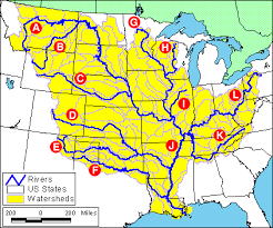 canadian map quiz rivers of watershed map quiz 1