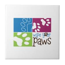 Wipe Your Paws Doormat Zazzle Wipe Your Feet Gifts On Zazzle