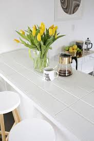 material choices for kitchen countertops pros and cons at hometren simple white small kitchen decor with ceramic tiles countertop