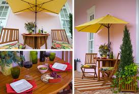 Outdoor Patio Ideas For Small Spaces Small Patio Ideas U2013an Intimate Dinner For 2 Improvements Blog