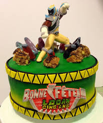 power rangers cake toppers le d evy power rangers dino charge birthday cake with
