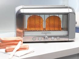 Toaster With Clear Sides Transparent Toaster Ensures Perfect Toastage Ohgizmo