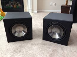infinity home theater cheap and easy dual sealed infinity 1262w u0027s using diysoundgroup