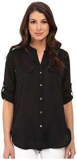 calvin klein blouses calvin klein crew neck roll sleeve blouse where to buy how to wear