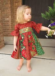 child s stripwork peasant dress for