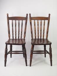 victorian kitchen furniture pair of antique victorian kitchen chairs la87110 loveantiques com