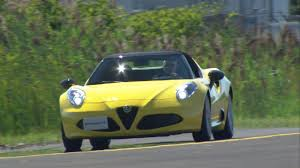 alfa romeo spider 2017 review 2017 alfa romeo 4c youtube