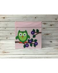 Nursery Owl Decor Deal On Owl Decor Owl Nursery Owl Fabric Bin Storage