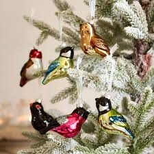 Christmas Tree Decorated With Birds by Christmas Tree Bird Decorations Rspb Christmas Rspb Shop