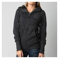 women s fox motocross gear fox racing forged sherpa zip women u0027s hoody revzilla