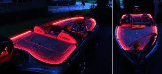 led boat trailer lights wfls x300 customer s led accent lights on boat deck led lights