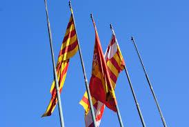 Barcelona Spain Flag Benvinguts A Barcelona Chez Lorraine