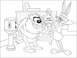 bugs bunny disney coloring pages picture ideas bebo pandco