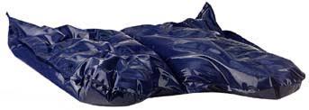 amara therapeutic wheelchair cushions gel and foam blue chip