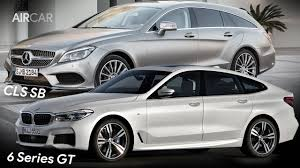 2018 bmw 6 series gran turismo vs mercedes cls shooting brake