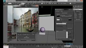 3d Max by Tutorial How To Add Background In 3ds Max Youtube