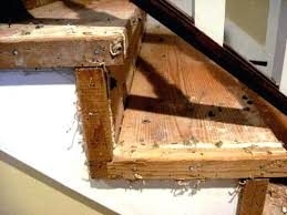edges of stairs beforewood stair covering ideas cheap tread
