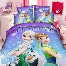 Single Bed Linen Sets Disney Frozen Girls Bedding Set Duvet Cover Bed Sheet Pillow Cases