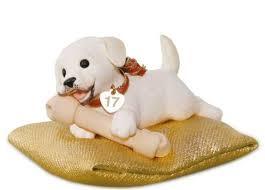 2017 playful puppy hallmark mystery ornament hooked on