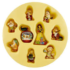 snow white seven set ornament set snow white and seven