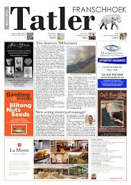Three Fires Karate North Bay by Franschhoek Tatler March 2016 By Franschhoek Tatler Issuu