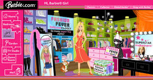 Barbie Room Game - barbie com by agnes chan at coroflot com