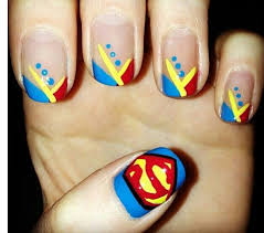 best 25 superman nails ideas on pinterest super nails xmas